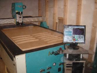 Fresadora CNC Sukota trabajando en R.Agullo, S.A.