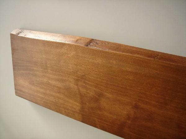 Baldas para pared en madera maciza de abedul venta de for Tablero madera maciza