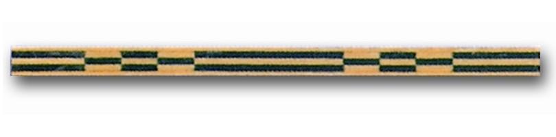 Greca de madera Ref. F-4 - Greca de madera de 1 mt. de largo y 0,9 mm. de espesor.