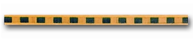 Greca de madera Ref. F-5 - Greca de madera de 1 mt. de largo y 0,9 mm. de espesor.