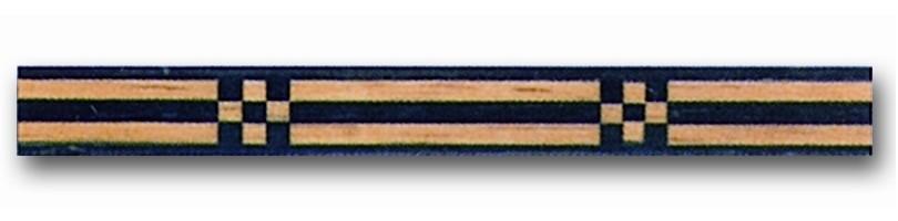 Greca de madera Ref. F-8 - Greca de madera de 1 mt. de largo y 0,9 mm. de espesor.