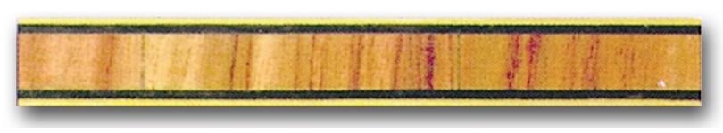 Greca de madera Ref. F-29 - Greca de madera de 1 mt. de largo y 0,9 mm. de espesor.