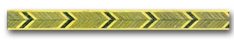 Greca de madera Ref. F-34 - Greca de madera de 1 mt. de largo y 0,9 mm. de espesor.