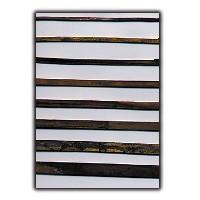 Filete de latón recocido - Filete de latón recocido de 1 mm. espesor y diferentes anchos (Precio por metro lineal)