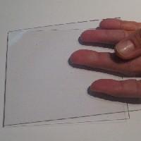 Acetato de celulosa Cristal de 1.5 mm.  - Acetato de celulosa de extrusión modelo Cristal de 1.5 mm. de espesor.