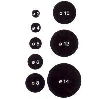 Redondo de haya de 90 - 100 cm. - Varilla redonda de haya de 90 - 100 cm. de largo y diferentes diámetros.