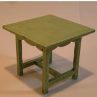 Mesa cocina pintada - Mesa de cocina Miniarte montada y pintada