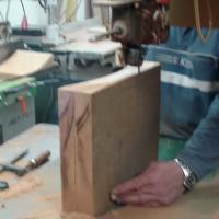Deshilado - Trabajo de corte al hilo de tabla o tablón