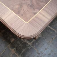 Modificación de las esquinas de una tapa de mesa