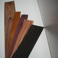 Laminado de diferentes maderas para luthería - Laminado de maderas a 2 mm. de espesor de diferentes clases para luthería.
