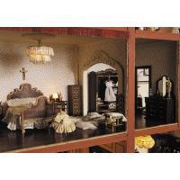 Habitación doble completa ( muebles en kit ) Miniarte - 5 Muebles en Kit para habitación doble Miniarte