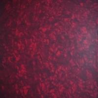 Acetato de celulosa Tricapa Nacar Rojo de 1.7 mm. - Acetato de celulosa tricapa modelo nácar rojo de 1.7 mm. de espesor