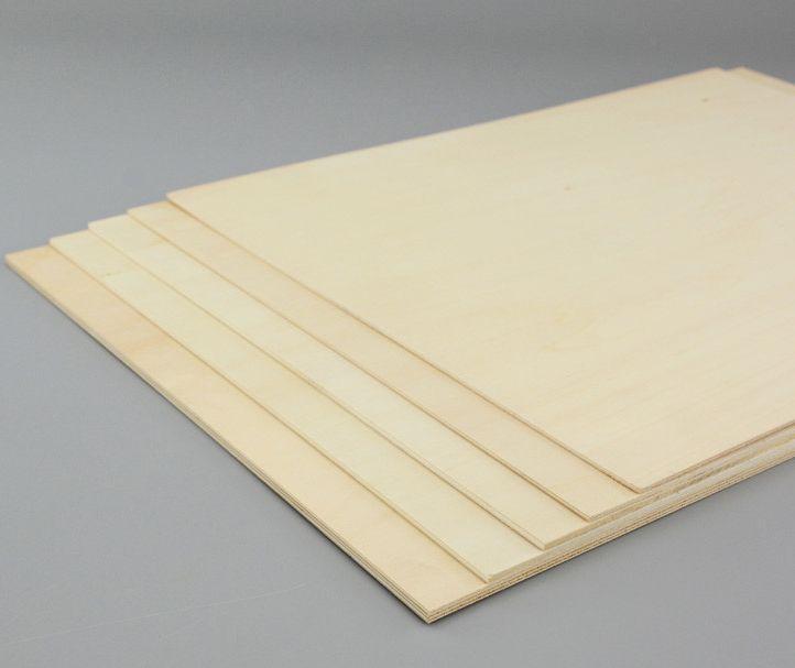 Contrachapado de tilo de 2 mm. espesor - Tablero de tilo contrachapado de 2 mm. espesor