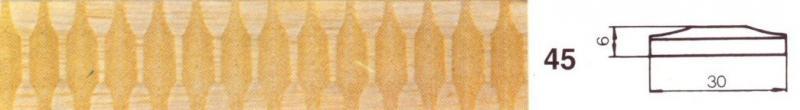 MOLDURA TALLADA 45 - Moldura tallada 45