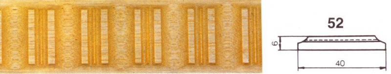 MOLDURA TALLADA 52 - Moldura tallada 52