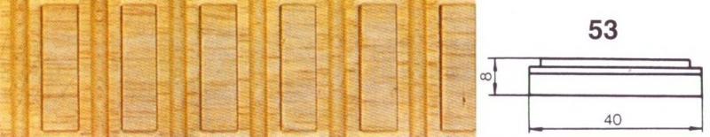 MOLDURA TALLADA 53