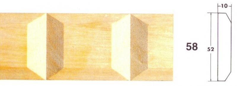 MOLDURA TALLADA 58 - Moldura tallada 58