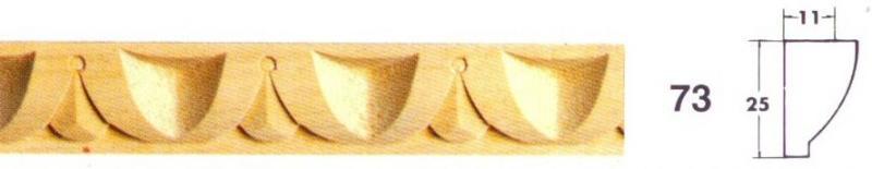 MOLDURA TALLADA 73 - Moldura tallada 73