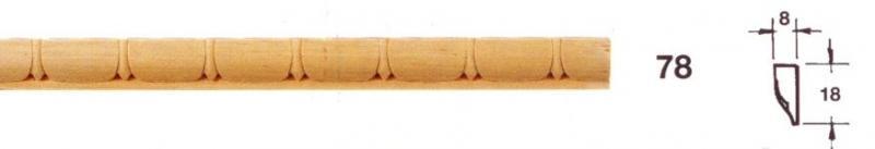 MOLDURA TALLADA 78 - Moldura tallada 78
