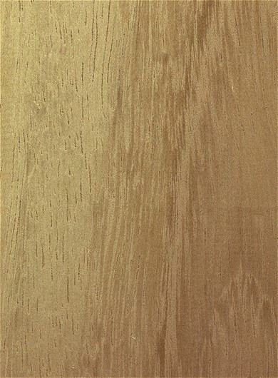 Pliego de chapa de Iroko - Pliego de chapa de madera de Iroko de 60 x 25 cm. aproximadamente y 0,6 mm. de espesor.