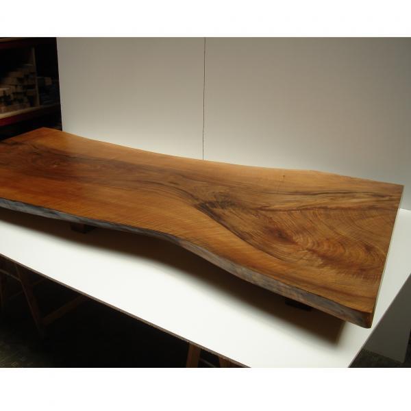Tabl n de nogal espa ol transformado en mesa baja venta - Tableros de madera maciza para mesas ...